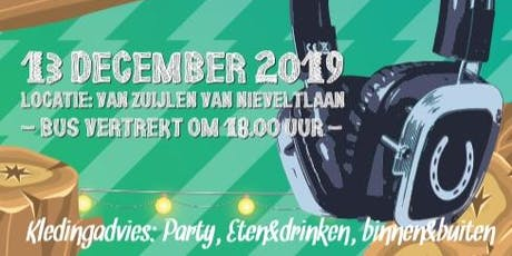 """Hoofbeat 2019 """"the CE-Christmass party"""" tickets"""