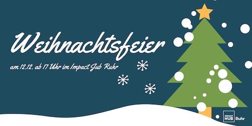 Impact Hub Ruhr Weihnachtsfeier 12.12.19