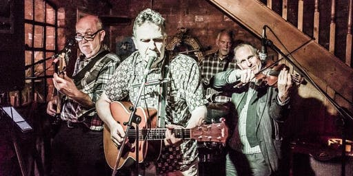 Live Music with Slow Train - we cook up an acoustic stew of 50's/60's classics on guitars,fiddle,harp &  cajon