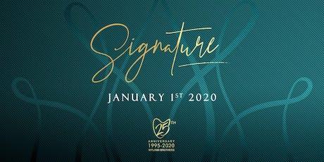 SIGNATURE 2020 tickets