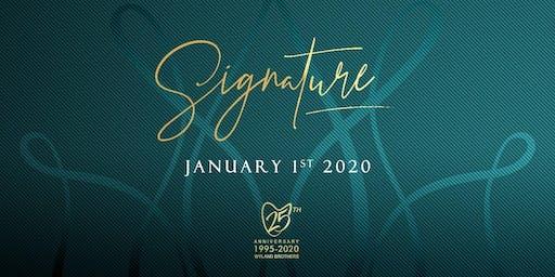 SIGNATURE 2020
