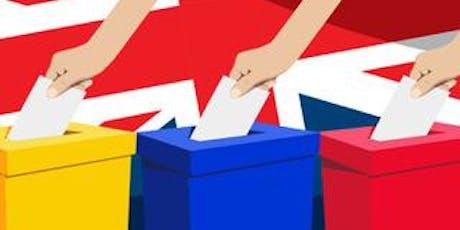 Britské parlamentní volby 2019 tickets