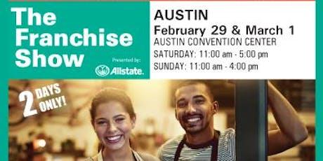 Austin Franchise Show tickets
