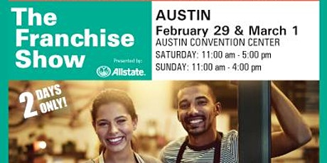 Austin Franchise Show tickets