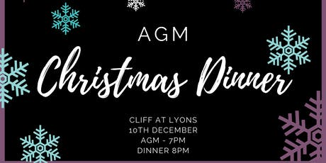 AGM and Christmas Dinner 2019 tickets