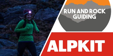 Alpkit Free Guided Headtorch Run with Run & Rock Guiding tickets
