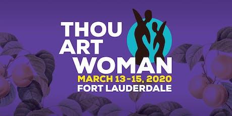Thou Art Woman Art Exhibit tickets