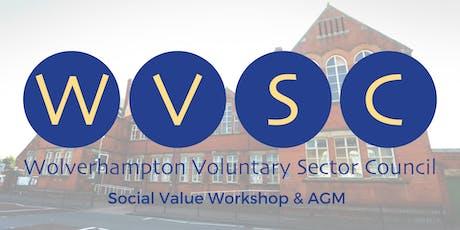 WVSC Social Value Workshop & AGM tickets