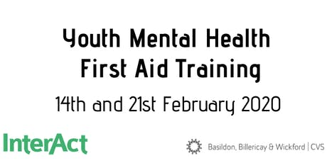 Youth Mental Health First Aid  14 & 21 February 2020 tickets