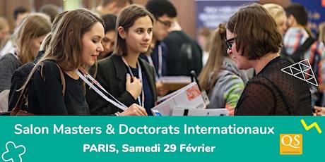Salon QS des Meilleurs Masters - Paris (GRATUIT) billets
