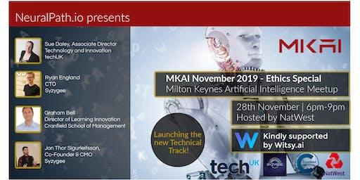 MKAI November | Artificial Intelligence Meetup | AI Ethics | Key Algorithms