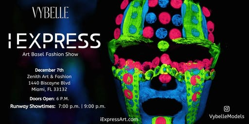 Vybelle's: I Express Art Basel Fashion Show