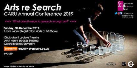 CARU | Arts re Search Annual Conference 2019 tickets