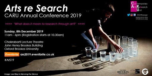 CARU | Arts re Search Annual Conference 2019