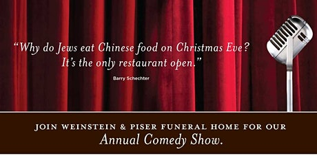 Is Comedy Dead? Annual Christmas Eve Comedy Show tickets