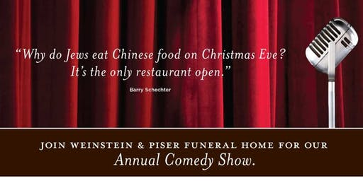 Is Comedy Dead? Annual Christmas Eve Comedy Show