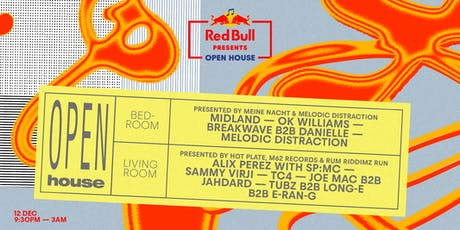 Red Bull Presents: Open House - Liverpool tickets