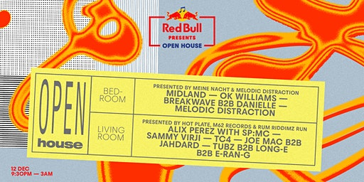 Red Bull Presents: Open House - Liverpool