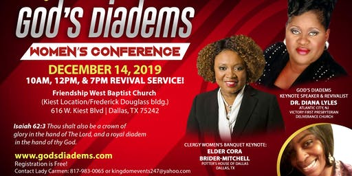 God's Diadems Women's Conference & Revival!