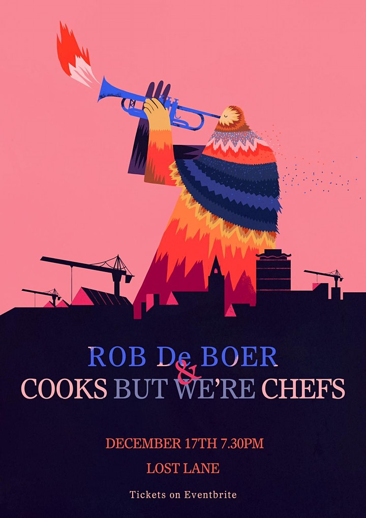 Rob de Boer & Cooks But We're Chefs at Lost Lane image