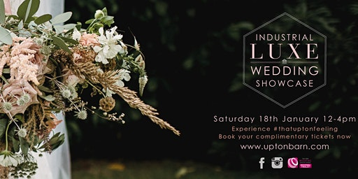 Upton Barn & Walled Garden Industrial Luxe Wedding Showcase