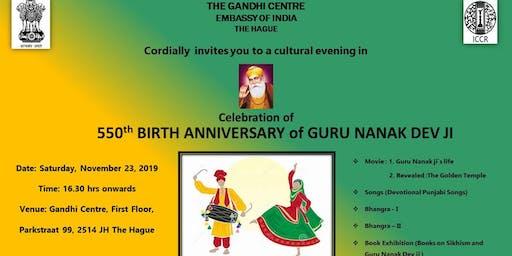 550th Birth Anniversary of Guru Nanak Dev ji Celebrations
