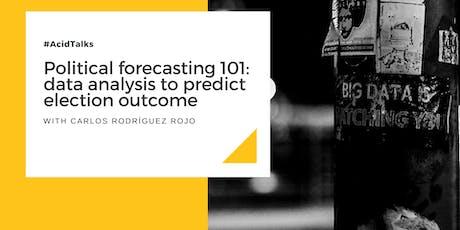 Political forecasting 101: data analysis to predict election outcome entradas