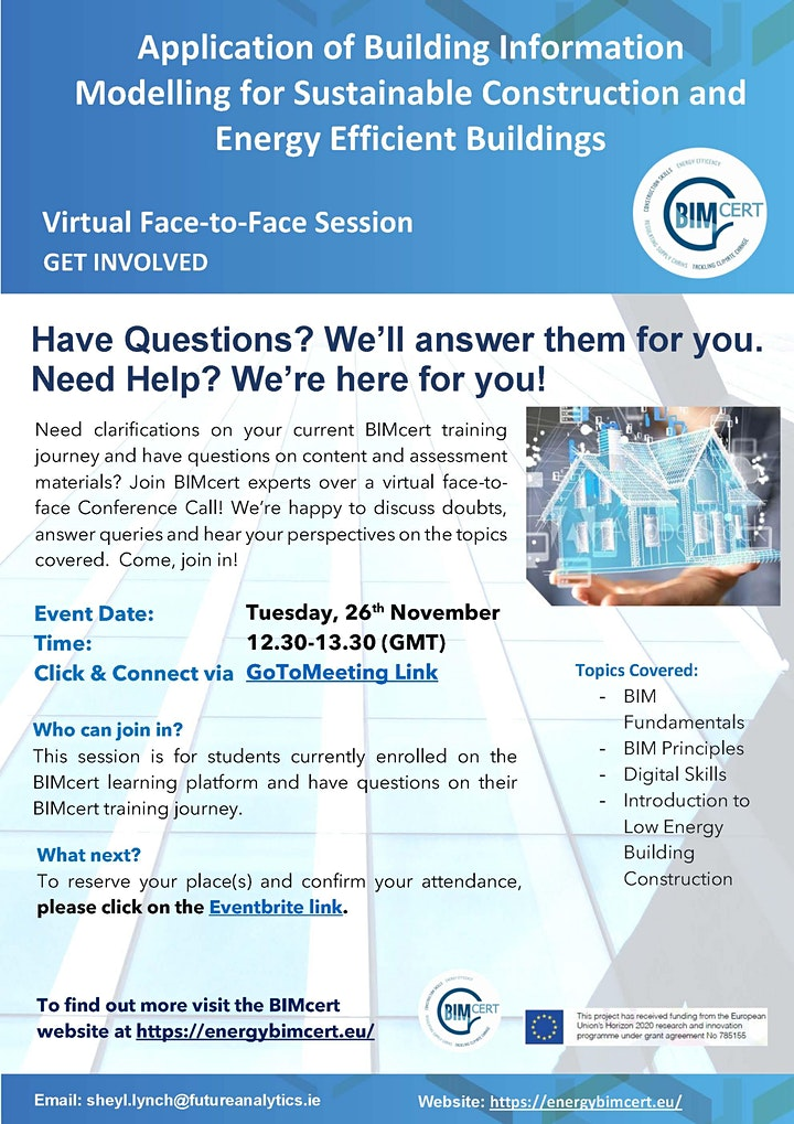 Virtual Face-to-Face Session via GoToMeeting image
