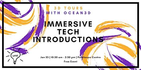 Immersive Tech Introductions: 3D Tours tickets