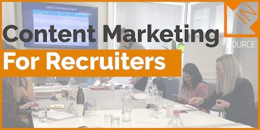 Content Marketing & Employer Branding for Recruiters (Social Media)