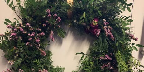 Christmas Wreath Workshop by In Bloom