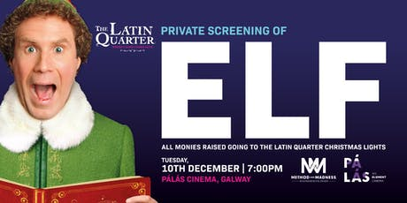 Elf Festive Movie Screening, Galway tickets