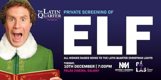 Elf Festive Movie Screening, Galway