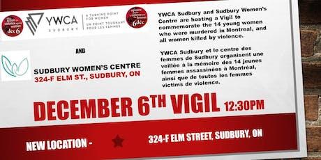December 6th Vigil tickets