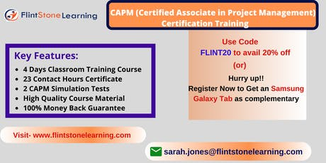 CAPM Certification Course in Barnstable, MA tickets