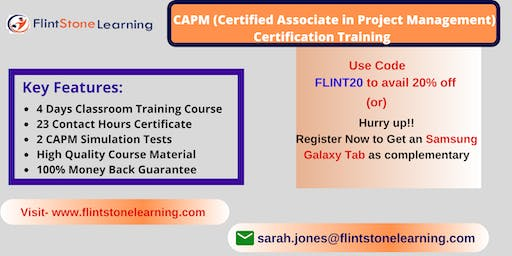 CAPM Certification Course in Barstow, CA