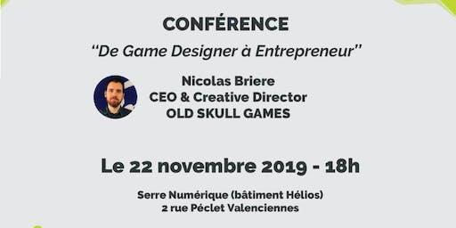 """Afterwork """"De Game Designer à Entrepreneur"""""""