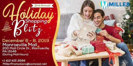 2nd Annual Holiday Shopping Blitz