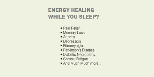 ENERGY HEALING WHILE YOU SLEEP?: EES Orientation, Sunday, Dec.1, 2019 at 3pm