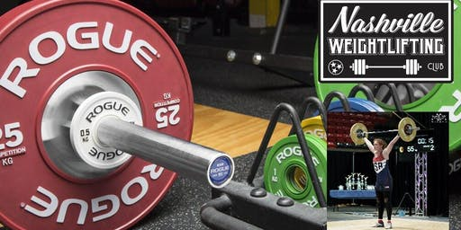 Nashville Weightlifting: Getting Under the Bar - Snatch Workshop