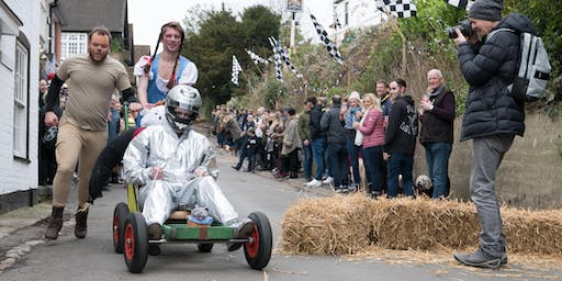 Sutton Valence 40th Annual New Years Day Pram Race Team Entry