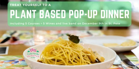 Plant-Based Pop-Up Dinner tickets