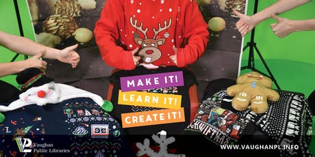 Ugly Sweater Photo Shoot at Pierre Berton Resource Library tickets