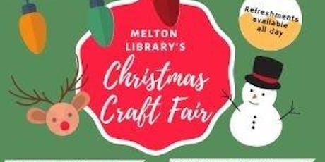 Christmas Craft Fayre at Melton Mowbray Library tickets