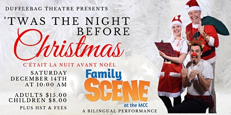 Family Scene - Dufflebag Theatre presents 'Twas the Night Before Christmas tickets