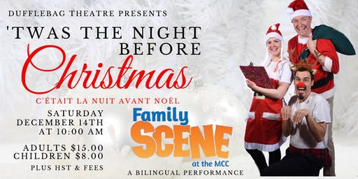 Family Scene - Dufflebag Theatre presents 'Twas the Night Before Christmas