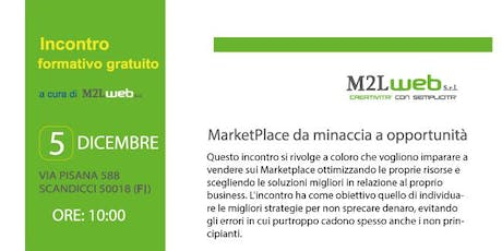 Marketplace Lab - Sincronizzazion  Ecommerce: Eprice, Amazon, Etsy, Walmart biglietti