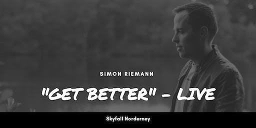 "Simon Riemann - ""Get Better"" live - Norderney"