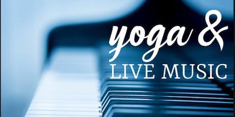 Yoga & Live Music tickets
