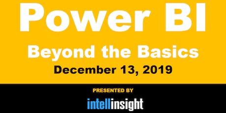 Power BI - Beyond the Basics: Miami, Fort Lauderdale, Palm Beach tickets